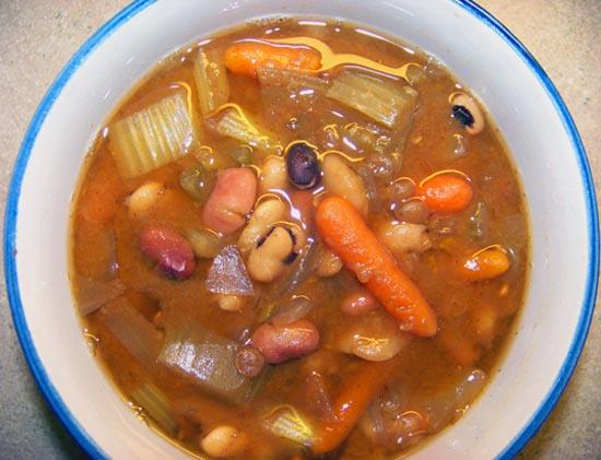 13 bean soup recipes