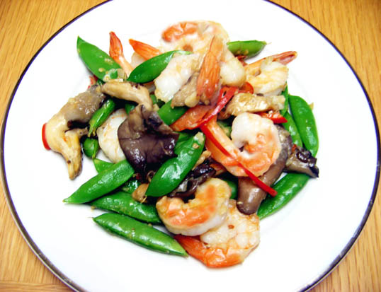 and tender snow pea and shrimp stir shrimp with snow peas recipe ...