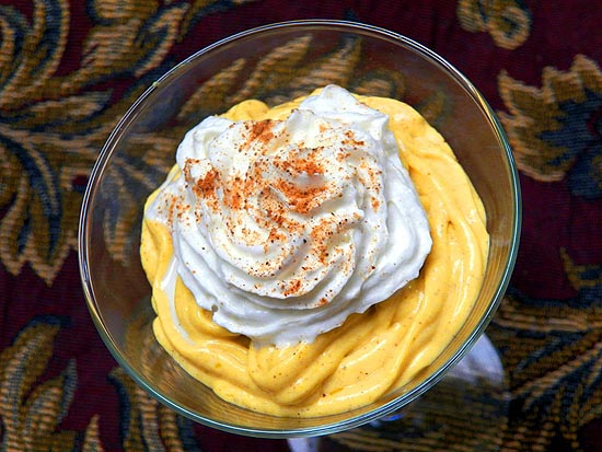 Pumpkin Cheesecake Mousse | Boomer Cuisine