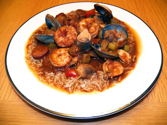 Seafood Jambalaya | Boomer Cuisine