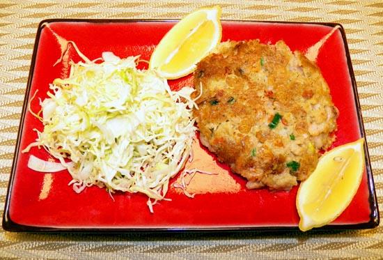 Shrimp and Clam Cake Image